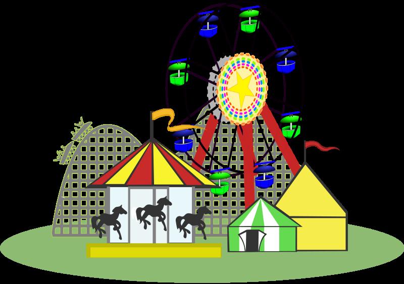 Free Theme Park Clip Art-Free Theme Park Clip Art-11
