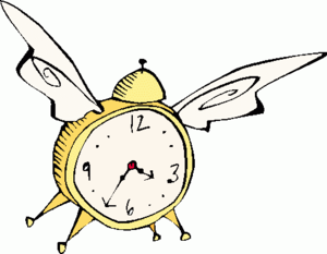 Free Time Clip Art Image