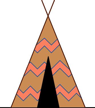 Free Tipi Tent Clip Art