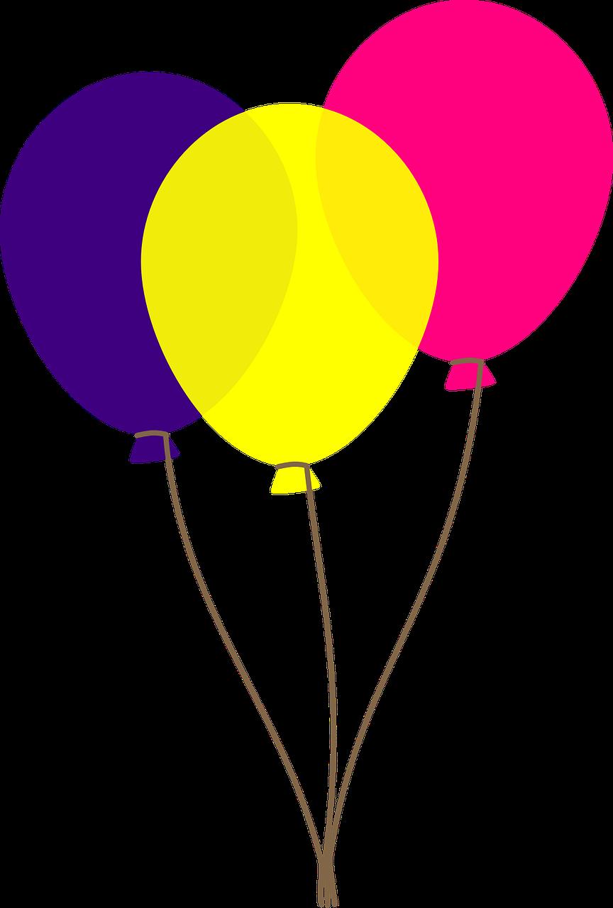 Free to Use u0026amp; Public Domain Balloon Clip Art