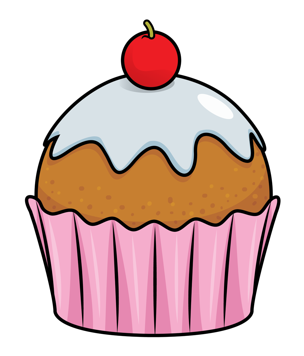 Free to Use u0026amp; Public Domain Cupcake Clip Art