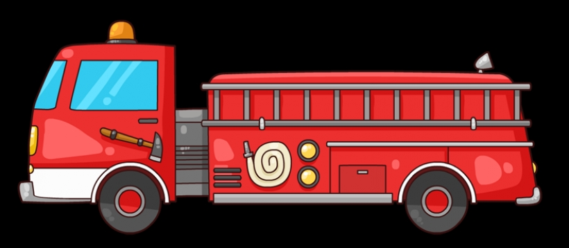 free to use amp public domain - Firetruck Clipart