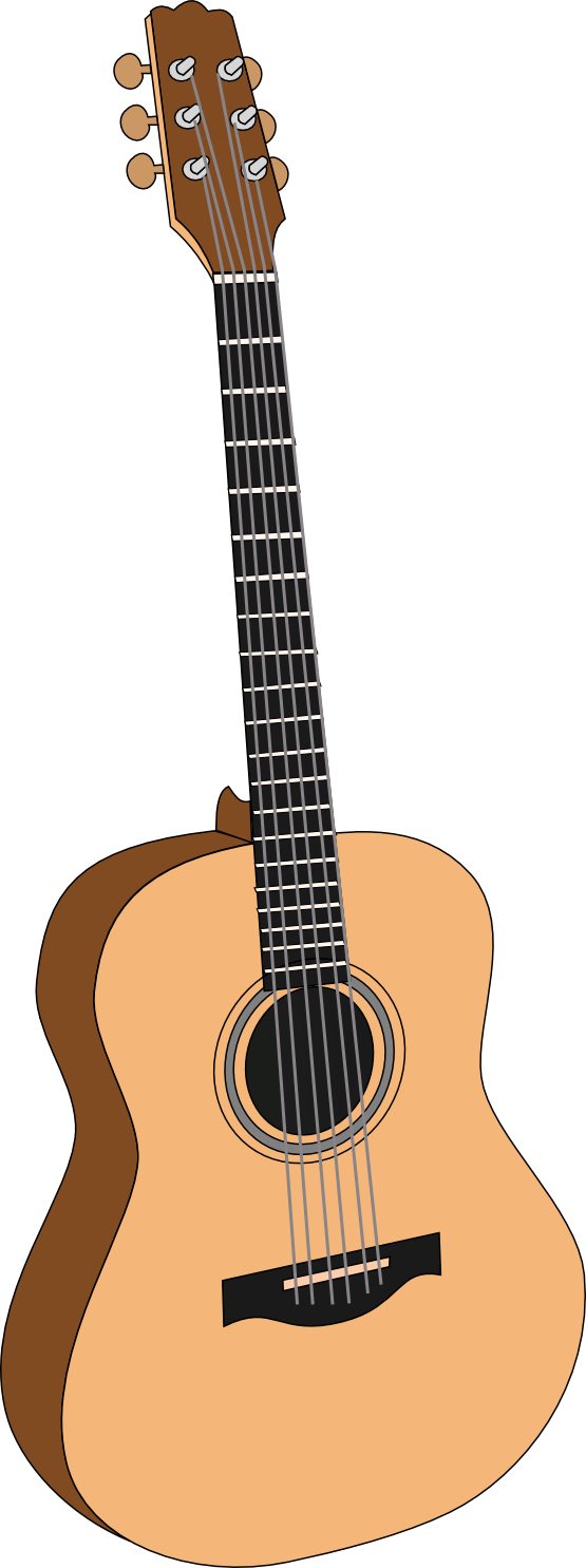 Free To Use Public Domain Acoustic Guita-Free To Use Public Domain Acoustic Guitar Clip Art-7