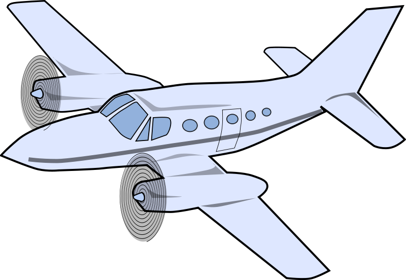 Free to Use Public Domain Airplane Clip Art - Page 3