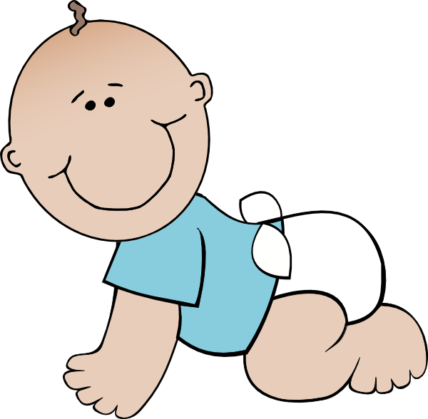 Free to Use Public Domain Baby Boy Clip Art