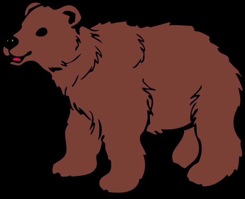 Free To Use Public Domain Bear Clip Art