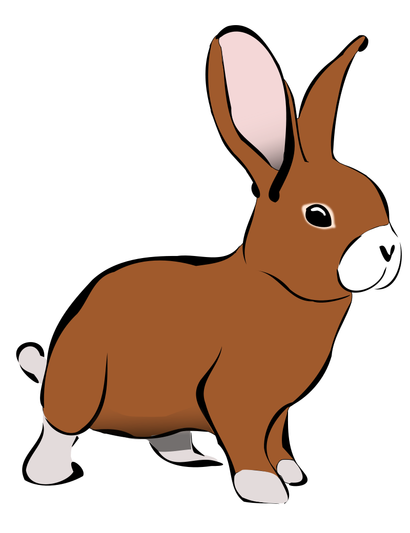 Free To Use Public Domain Bunny Clip Art Page 2