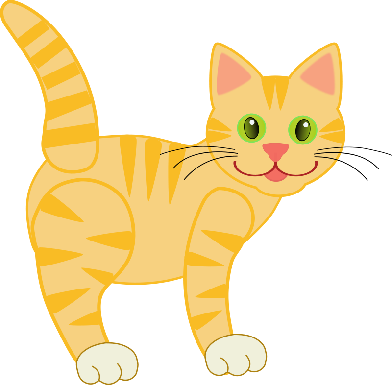Free To Use Public Domain Cat - Cat Clipart Free