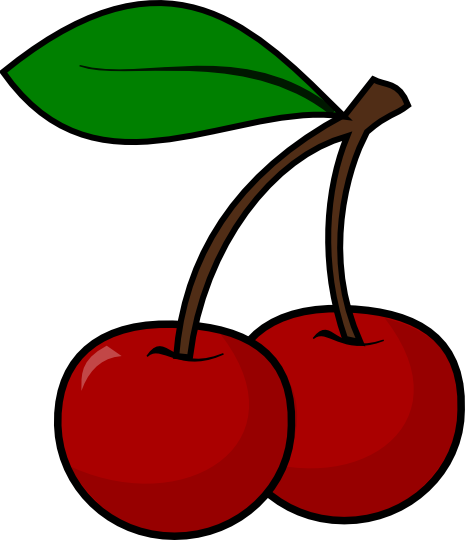 Free To Use Public Domain Cherries Clip -Free To Use Public Domain Cherries Clip Art-12