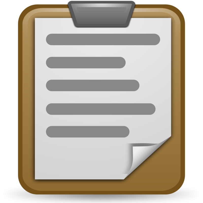 Free To Use Public Domain Clipboard Clip-Free To Use Public Domain Clipboard Clip Art-15