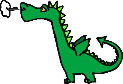 Free to Use Public Domain Fan - Free Dragon Clipart