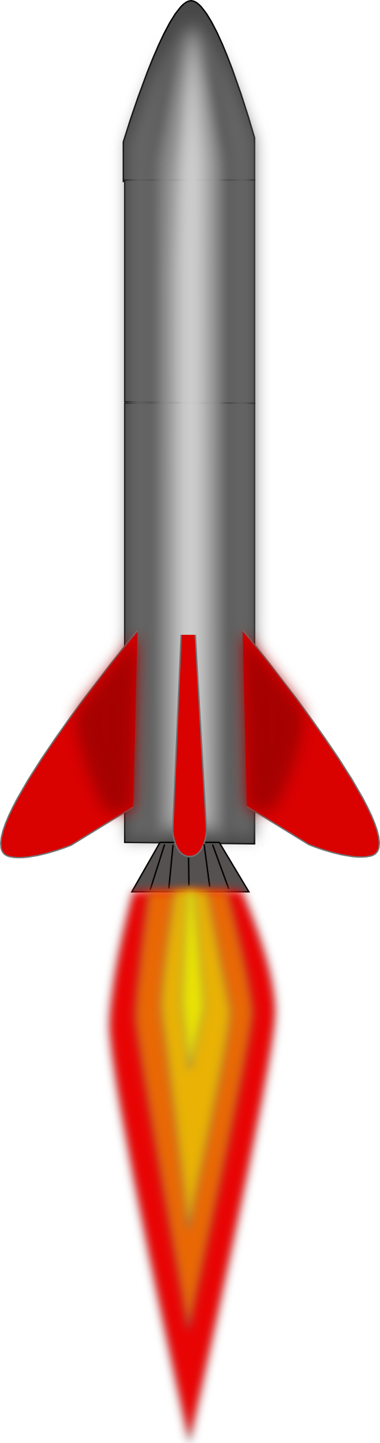 Free to Use Public Domain Missile Clip Art