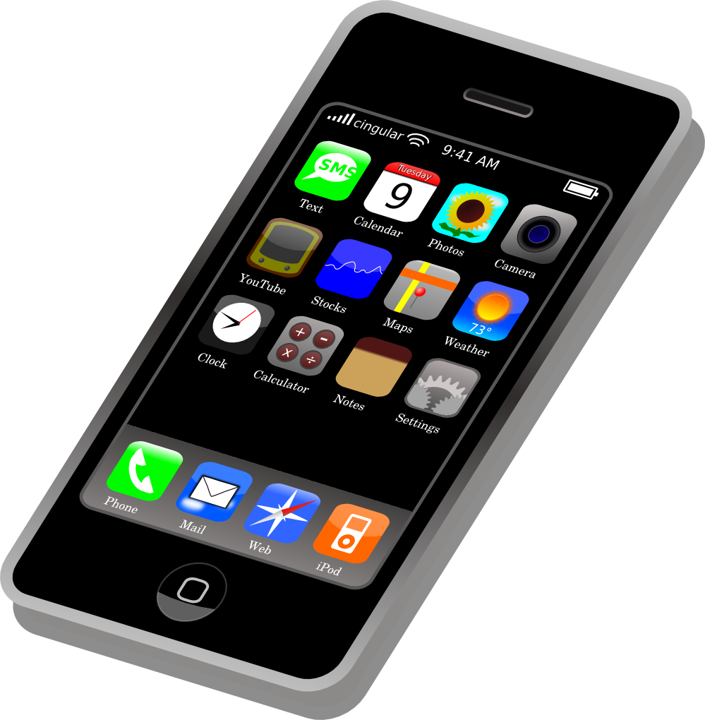 Free To Use Public Domain Mobile Phones -Free to Use Public Domain Mobile Phones Clip Art - Page 3-12