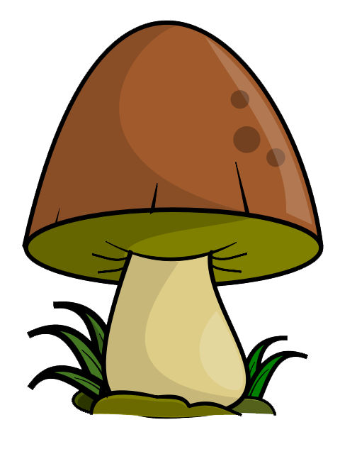 Free To Use Public Domain Mushroom Clip -Free To Use Public Domain Mushroom Clip Art-7