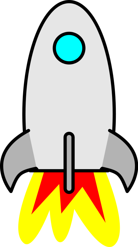 Free To Use Public Domain Rocketship Clip Art Page 2