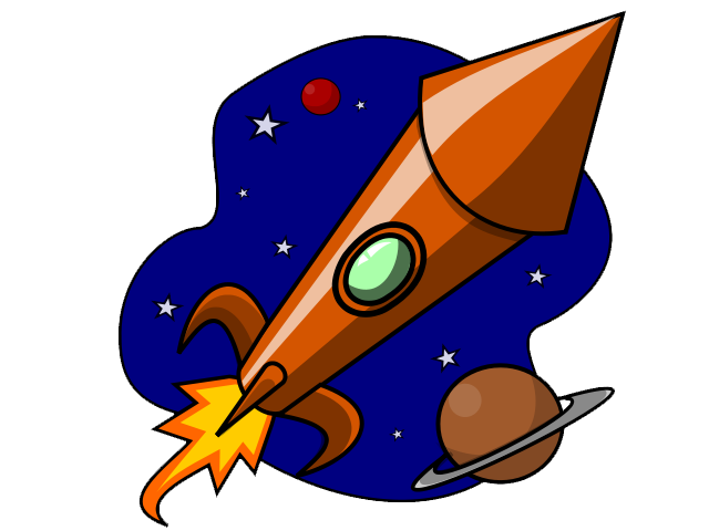 Free to Use Public Domain Rocketship Cli-Free to Use Public Domain Rocketship Clip Art-13