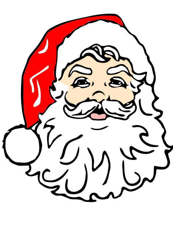 Free to Use Public Domain Santa Claus Cl-Free to Use Public Domain Santa Claus Clip Art - Page 4-5