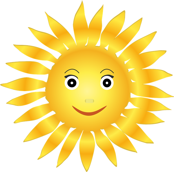 Free To Use Public Domain Sun Clip Art