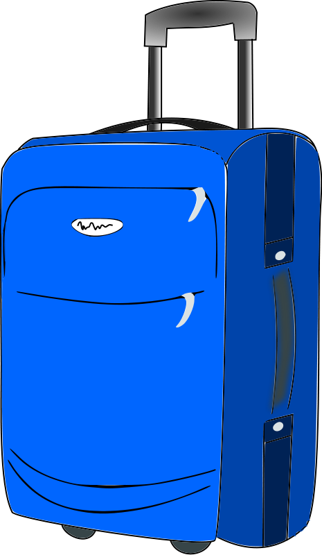Free To Use Public Domain Tra - Luggage Clip Art