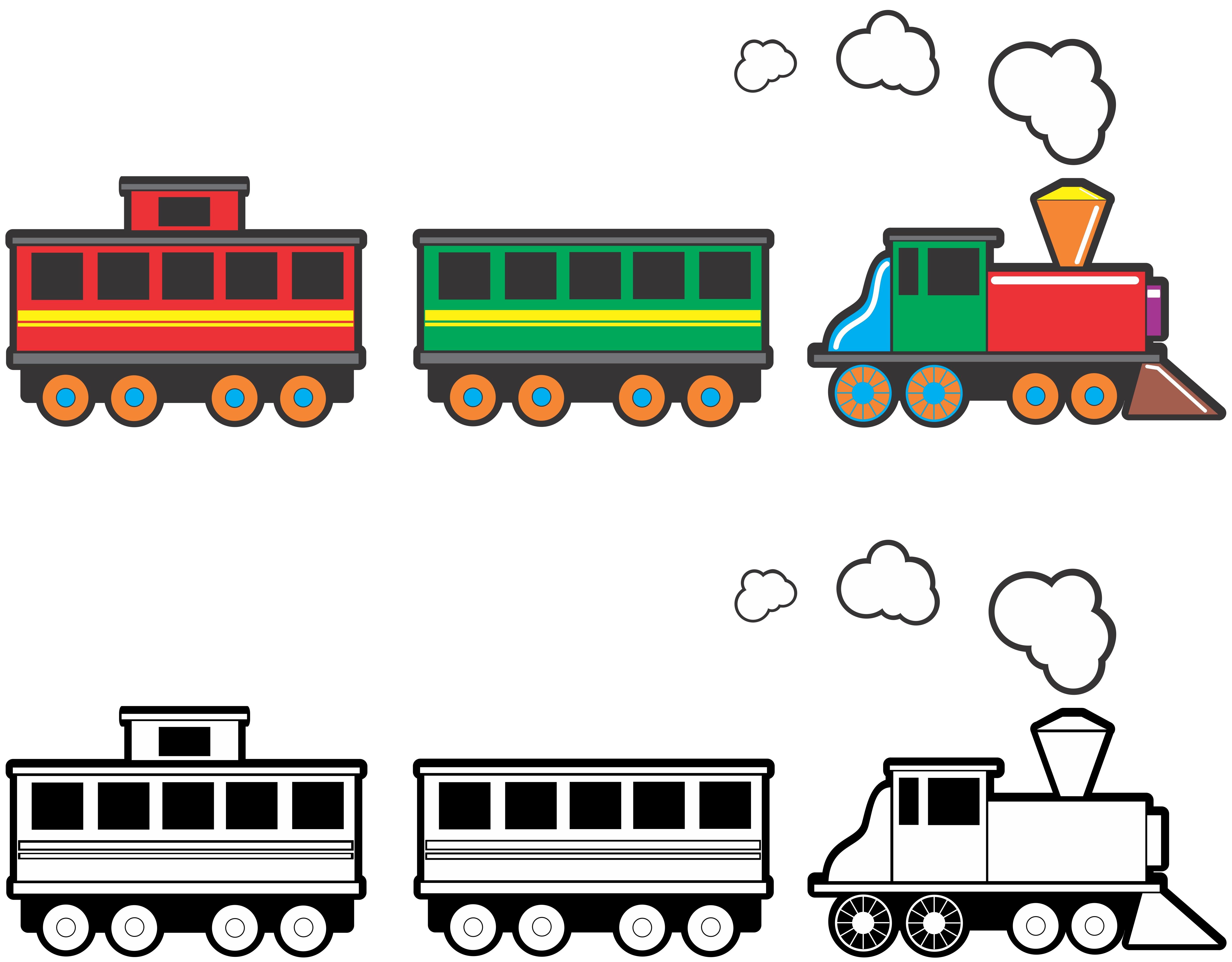 ... Free Train Clipart - clipartall ...