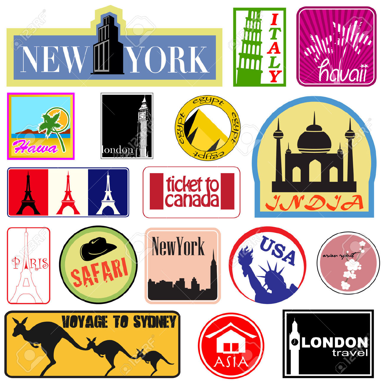 Free Travel Clipart Clip Art Pictures Graphics Illustrations