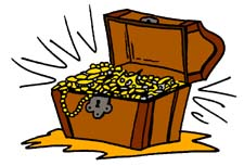 Free treasure chest clipart clipart