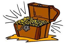 Free treasure chest clipart clipart