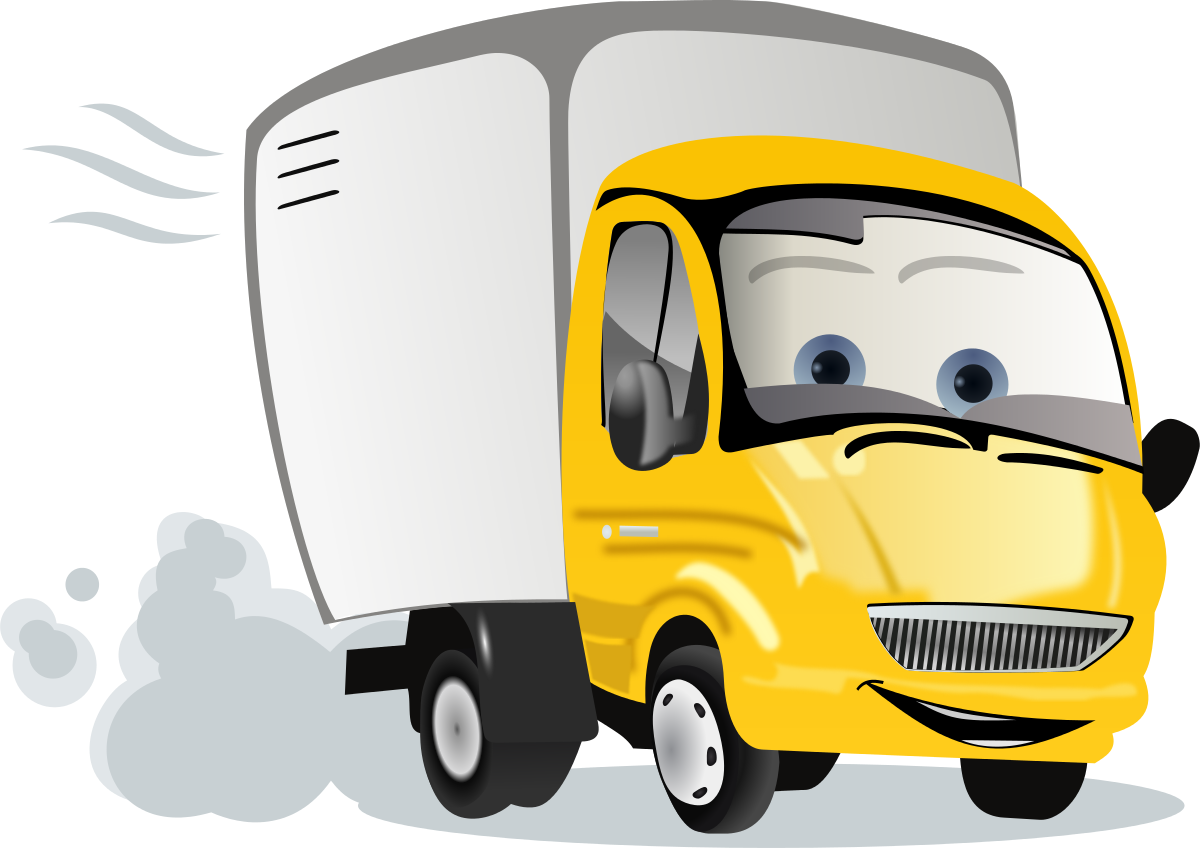Free truck clipart truck icon - Clipart Trucks