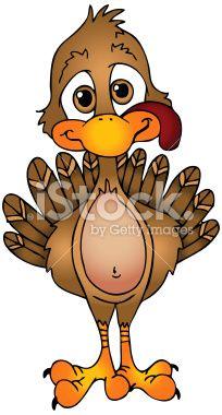 Free Turkey Clip Art | Thanksgiving Turkey Royalty Free Stock Vector Art Illustration