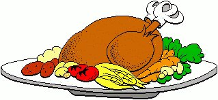 Free Turkey Dinner Clipart Free Clipart Graphics Images And Photos