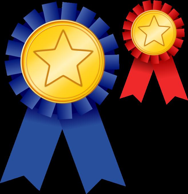 Free Two Award Ribbons Clip Art-Free Two Award Ribbons Clip Art-1