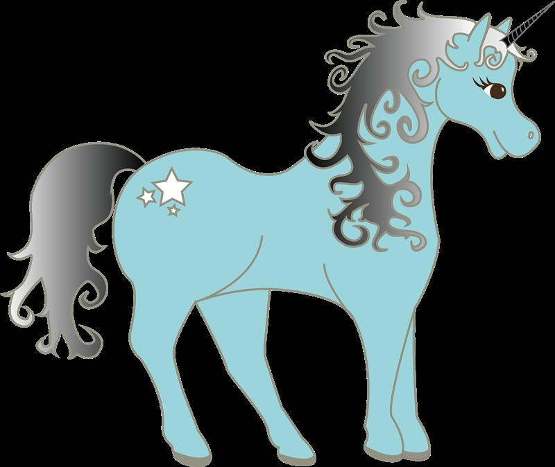 Free Unicorn Clip Art - Unicorn Clipart