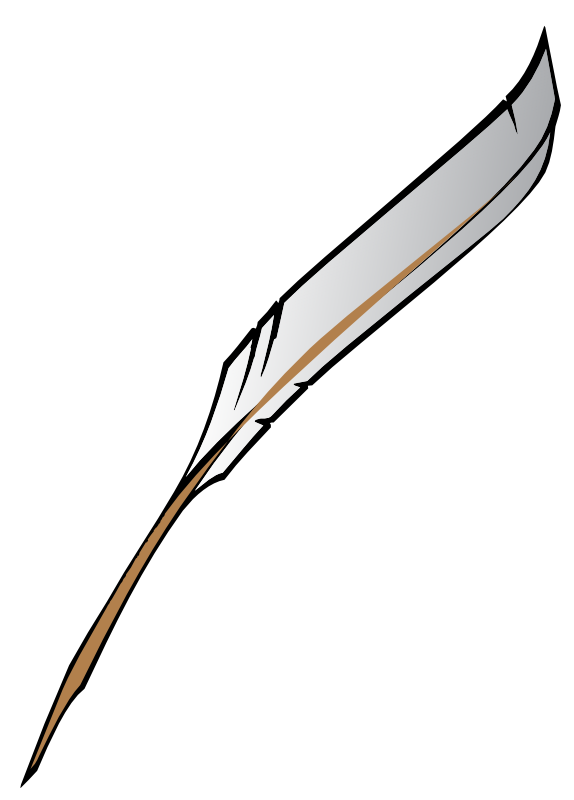 Free use feather pen images clipart-Free use feather pen images clipart-10