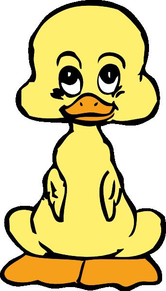 ... free vector Baby Duck clip art