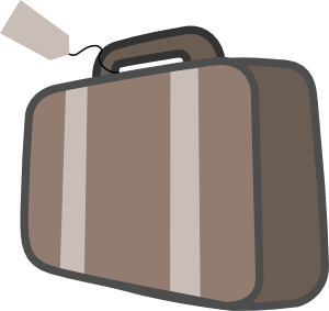 ... free vector Bag Luggage Travel clip -... free vector Bag Luggage Travel clip art ...-13