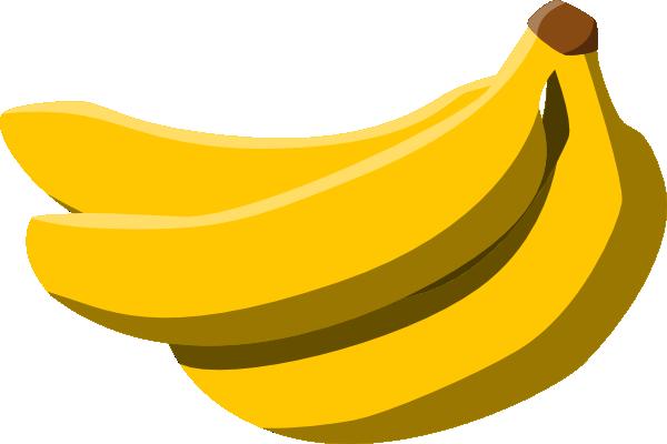 free vector Bananas clip art .
