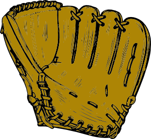 ... free vector Baseball Glove clip art ...