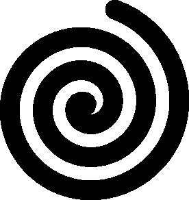 ... free vector Black Bold Spiral clip a-... free vector Black Bold Spiral clip art ...-14