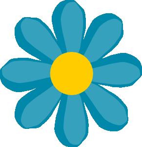 ... Free Vector Blue Flower Clip Art ...-... free vector Blue Flower clip art ...-11