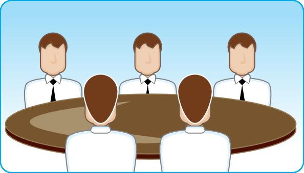 ... free vector Business Meeting clip art
