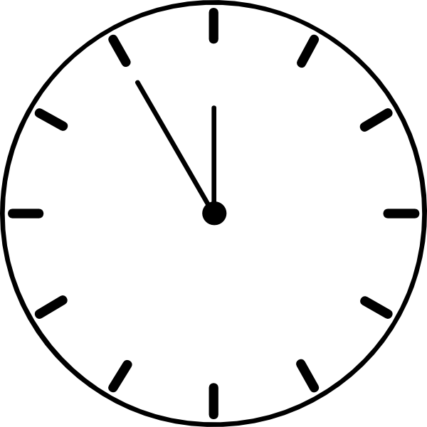 ... free vector Clock clip art