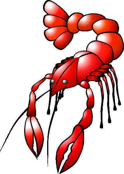 ... Free Vector Crawfish Clip Art-... free vector Crawfish clip art-16