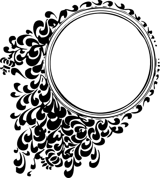 ... free vector Filigree Circle clip art
