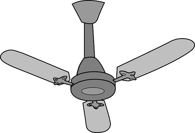 Free Vector Graphic Ceiling F - Fan Clip Art