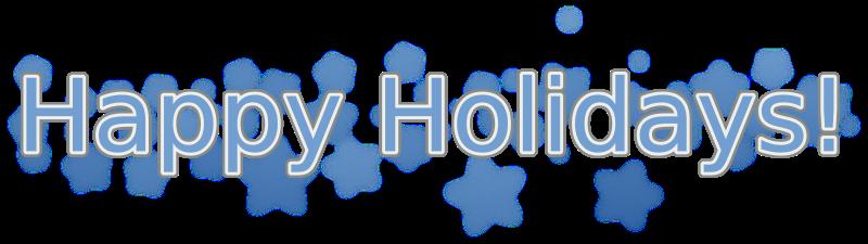 free vector Happy Holidays .