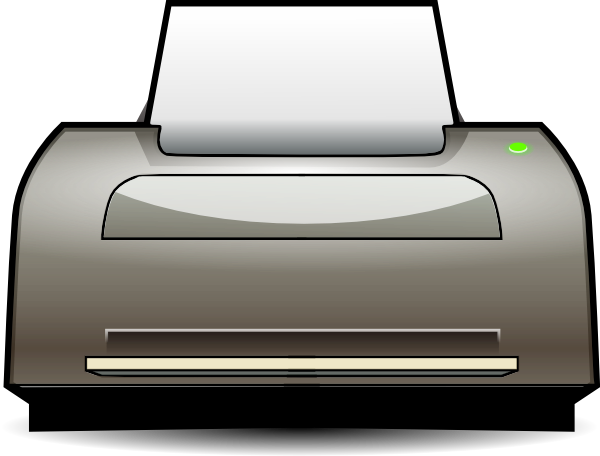 ... Free Vector Inkjet Printer Clip Art-... free vector Inkjet Printer clip art-4
