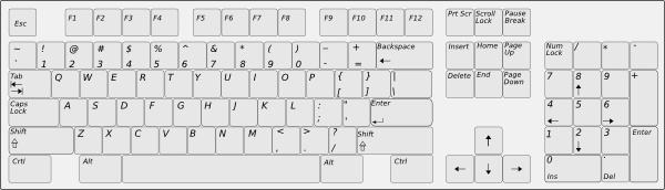 ... Free Vector Keyboard Clip Art-... free vector Keyboard clip art-10