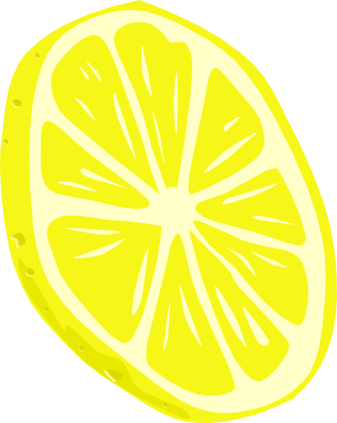 ... free vector Lemon (slice) clip art