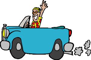 ... free vector Man Driving Car clip art ...