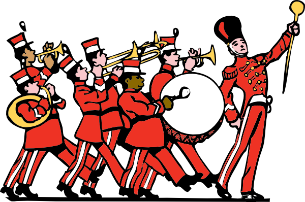... Free Vector Marching Band Clip Art-... free vector Marching Band clip art-6